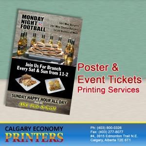 Poster Printing Calgary Services By Calgary Economy Printers!