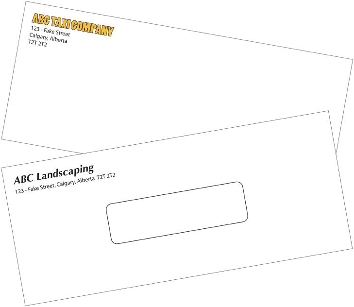 Custom Envelope Printing In Calgary