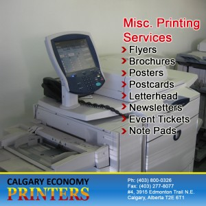 Full Color Printing Services By Calgary Economy Printing Company