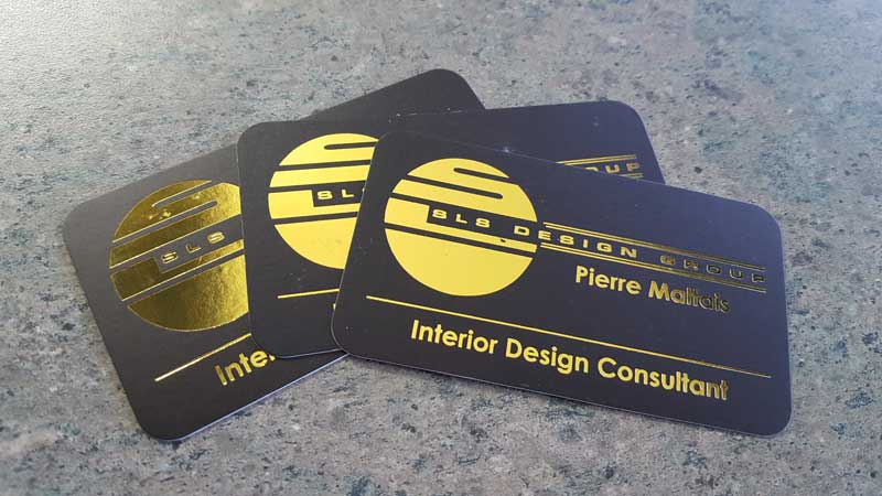 Business cards printing in calgary appointment and magnetic cards silk laminated gold foil calgary economy printers reheart Gallery