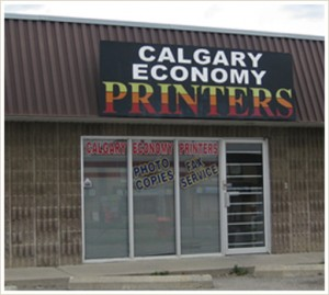 Contact Calgary Economy Printers at 403-800-0326 | Serving Since 1985
